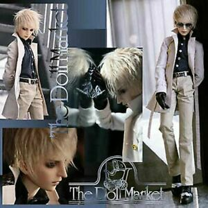 """Brant 25.5"""" Resin BJD with Jointed Blushed Hands & Faceup by Doll Zone - Retired"""