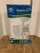 PetSafe Electronic Smart Pet Dog Door Small 4-15lbs! New Open Box!