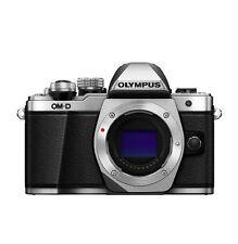 Olympus OM-D E-M10 Mark II Mirrorless Digital Camera Only Boby - Silver