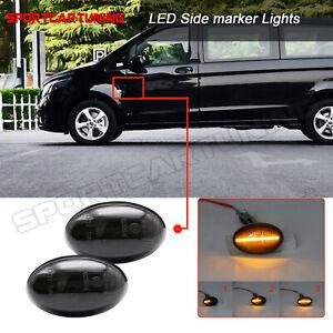 2x Dynamisch LED Seitenmarkierung Blinker Für Mercedes-Benz W415 W168 W639 W447