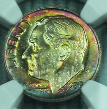 Toned 1959 Roosevelt MS-67 NGC