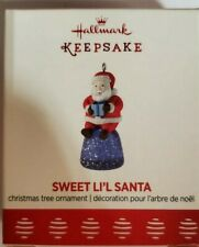 2017 Hallmark Keepsake Ornament Sweet Li'l Santa Miniature