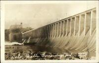 Conowingo MD Dam 1928 Real Photo Postcard rpx