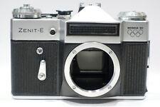 Zenit E 1980 Moscow Moshva Olympic Edition 35mm SLR camera body, M42 lens mount