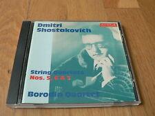 Borodin Quartet - Shostakovich - String Quartets Nos. 5, 6 & 7 - CD Melodiya BMG