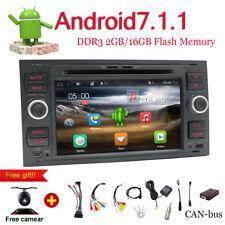 Android 7 2DIN DVD GPS Autoradio für Ford Transit Kuga Fiesta Focus C/S-Max Dab+