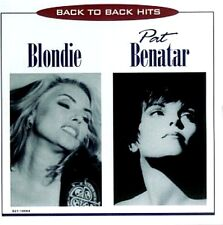 Blondie / Pat Benatar ~ Back to Back Hits NEW AND SEALED CD 70's 80's Pop / Rock