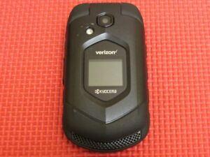 Kyocera DuraVX 4G LTE E4610 Black Rugged Flip Cell Phone Verizon Wireless