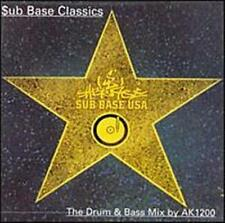 Sub Base Classics: Drum & Bass Mix by AK1200 by Various Artists (CD, Jul-1997, S