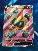 Falinks V - Full Art Ultra Rare 185/192 Holo Rebel Clash S&S Pokemon Card - NM