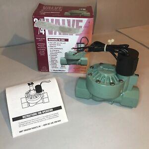 """Orbit WaterMaster 3/4"""" 57100 Automatic In-Line Valve Sprinkler Irrigation"""