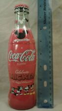 Disney's Mickey Mouse 75 InspEARations Coke Coca Cola Bottle!!! New & Full****