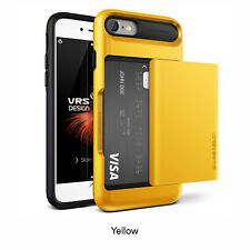 """VRS Design Damda Glide Series Stylist Card Slot Wallet Case for iPhone 7 4.7"""" Le 904612 Indie Yellow"""