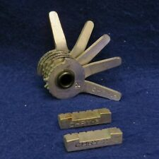 CURTIS Model 15 Code Cutter 5 Cut CHRY-2 Cam w/ CHRY-2 & 3 Carriage - SEE PICS