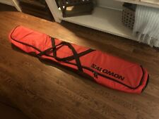 New Salomon Ski Travel Bag (Carry, Quality, Winter Sport Goods) Red Rare New