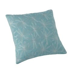 YVES DELORME - TROPICS LAGON CUSHION COVER COTTON AND SILK OVER 65% OFF RRP