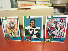 1990 Topps Football pick 40 cards ex-nm