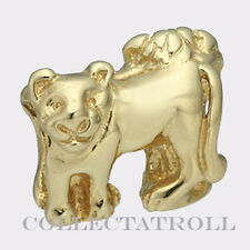 Authentic TrollBead 18kt Gold Lions TrollBeads 21217