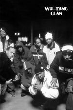 "Wu-Tang Clan Group Photo Poster  24"" x 36""  Wu Tang RZA GZA Ghostface Killah"