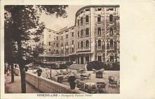 ANTICA  CARTOLINA DI VENEZIA LIDO HUNGARIA PALACE HOTEL 1932