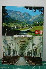 SWISS switzerland ENGELBERG tourist POST CARD travel