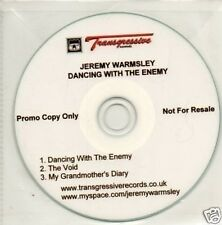 (608V) Jeremy Warmsley, Dancing With The Enemy - DJ CD