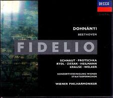 BEETHOVEN: FIDELIO Gabriele Schnaut Protschka DOHNANYI 2CD Kurt Rydl Ruth Ziesak
