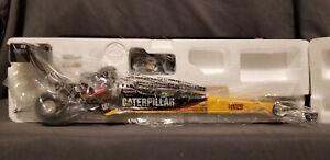 Rod Fuller 2008 Caterpillar 1/24 Auto World NHRA Top Fuel Diecast - RARE MINT