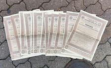 LOT 15 OBLIGATION RUSSE DE 187,5 ROUBLES @ BOND RAILROAD VOLGA - KOLTCHOUGUINO