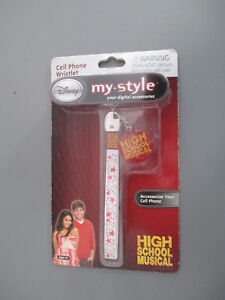 Disney my style cell phone accessories wristlet high school musical Charm age 9+