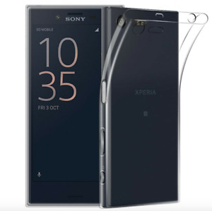 Ultra Thin Transparent TPU Case Back Cover For Various Sony XPERIA Smartphones