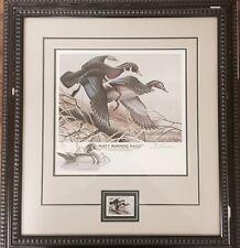 1986 Illinois Waterfowl Conservation - Duck Stamp Print - FOS 58/350 Remarque