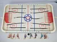 Vintage Tudor Tru Action Deluxe Table Top Hockey Game (Incomplete)