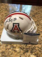 Lance Briggs Autographed Arizona University Riddell Mini Helmet Beckett COA
