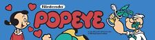 Popeye Nintendo Arcade Marquee For Reproduction Header/Backlit Sign