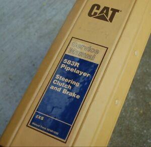 CAT Caterpillar 583R Pipelayer Tractor Crawler Service Manual Repair Shop Guide