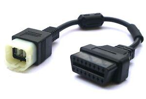 Adapter für Motorrad KTM 6 Pin Plug zu OBD 2 OBD2 Adapter für TUNE ECU TUNEECU
