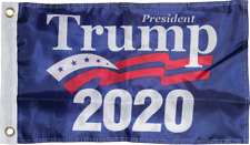 PRESIDENT DONALD J. TRUMP 2020 FLAG 3x5 FT Double Sided 150D NYLON Grommets