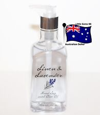 BATH & BODY WORKS ** Linen & Lavender ** HAND SOAP WITH OLIVE OIL 295ML