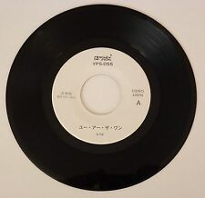"A-HA You are the one 7"" 45t Japan promo YPS-055 1988"