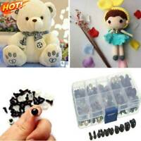 6-12mm 100pcs Safety Black Eyes For Bear Doll Making Toys Animal Dolls Soft X4R8