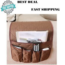 Remote Control Caddy Arm Chair Holder Storage Organizer Armrest Couch Pocket