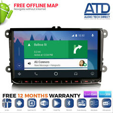 "9"" Android Auto 10.0 GPS Sat Nav Radio CarPlay For VW Transporter T5 T5.1 Caddy"