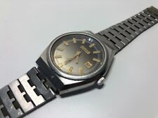 Vintage Watch Reloj DUWARD Incabloc Automatic - Date Steel - For Collectors
