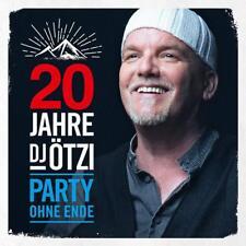 DJ ÖTZI  20 Jahre Dj Ötzi Party ohne Ende  2 CD   NEU & OVP  04.01.2019