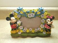 Mickey Mouse Minnie Picture Frame Flowers Wedding? Disney