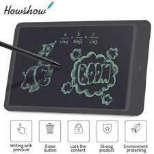 "10"" Digital LCD Writing Tablet Pad Drawing Graphic Board Notepad eWriter Black"