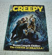 Creepy Magazine #8, Warren Publ. 1965 Gray Morrow Cover Silver Age VF+ 8.5