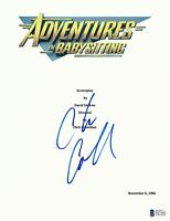 CHRIS COLUMBUS SIGNED ADVENTURES IN BABYSITTING FULL SCRIPT SCREENPLAY BECKETT