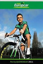 CYCLISME carte cycliste PERRIG QUEMENEUR équipe EUROPCAR 2011